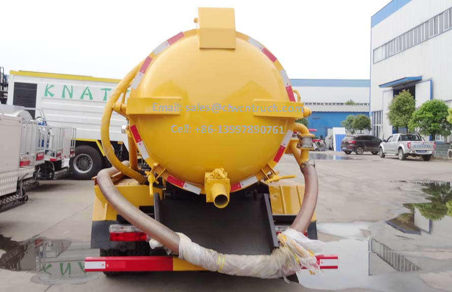 Waste Pumper Truck Price