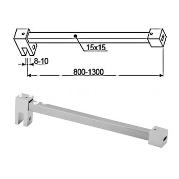 Shower Curtain Rod Gl Screen