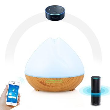 Wood Grain Wifi Smart Aroma saliida Diffuser