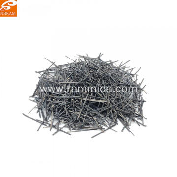 Stainless steel fiber copper plating steel fiber