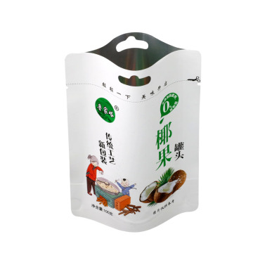 Food grade custom printed fruit nut Chocolate packaging-bags