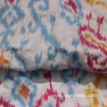 Wholesale printed stretch dobby cotton spandex fabric