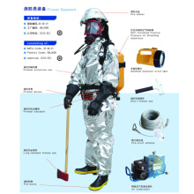 Fireme protective suit Equipment