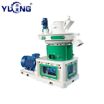 YULONG XGJ560 wood burning pellet making machine