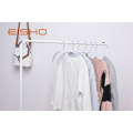 White PVC Coated Clothes Hanger