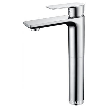 New single-lever restroom vessel basin faucet