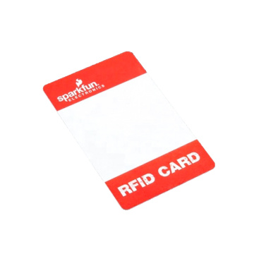 RFID 13.56MHz Plastic S50 1K Smart Card