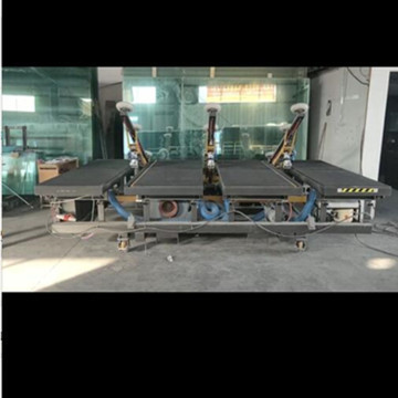 Three arms Auto Loading And Manual Cutting Table