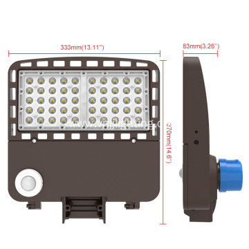 High Brightness 150w Led Area Lighting Shoebox Light Fixture