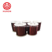 Enameled copper winding wire for transformer