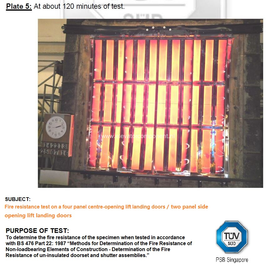Modernization Package for Sematic Fire Rated Landing Doors
