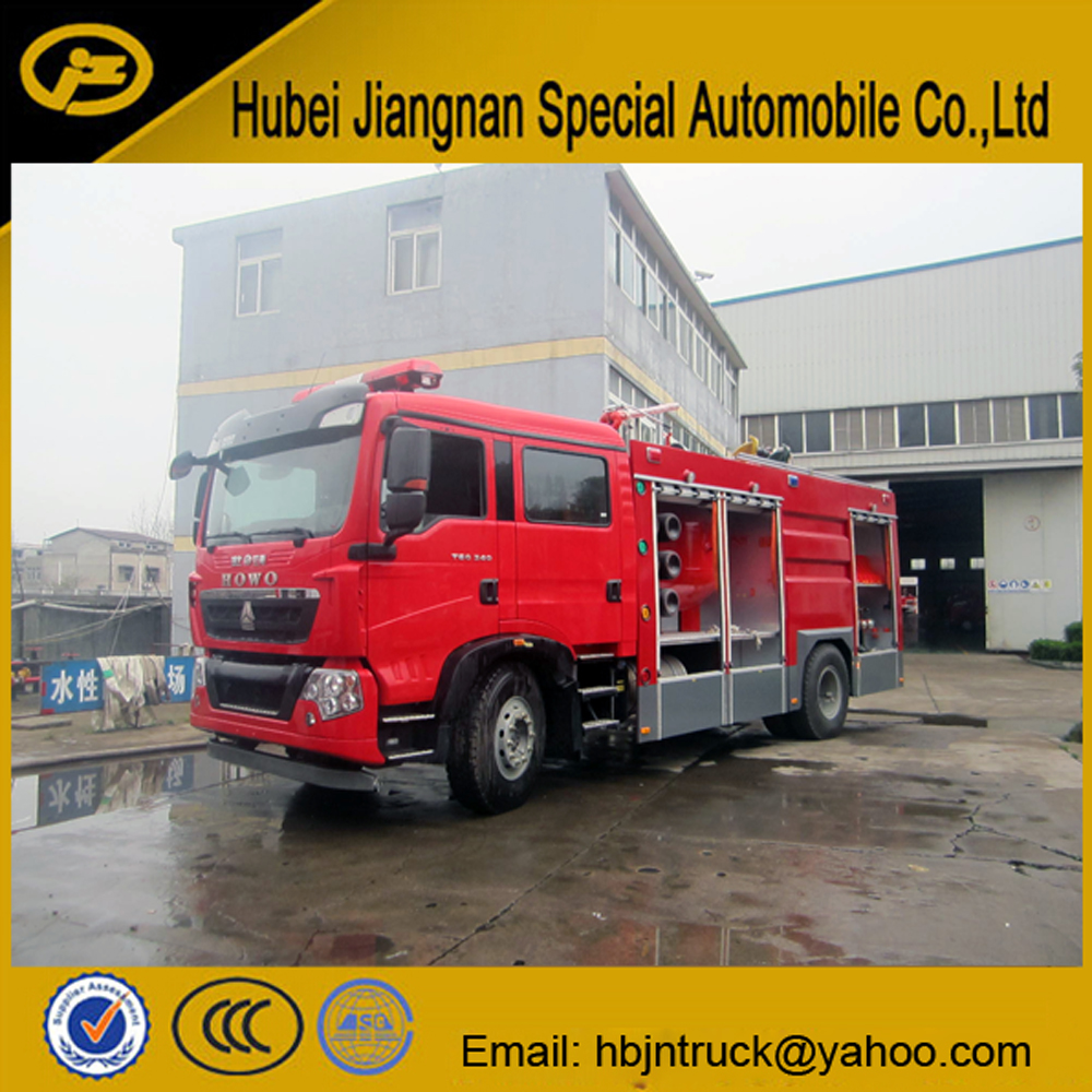 Dry Powder Fire Fighting Truck