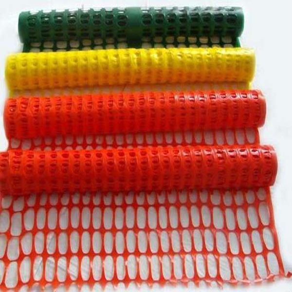 Orange Safety Plastic Mesh