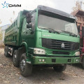 Used HOWO  12 Wheels Tipper Truck