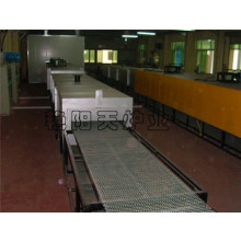 Mesh Belt Hot Blast Circulation Electrothermal Dryling Line