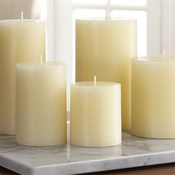 Home Decorative Wholesale Cheap Colorful Pillar Candle