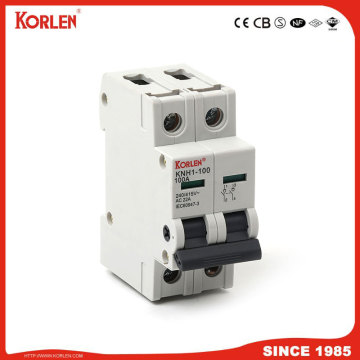 DIN Rail Isolator switch KORLEN KNH1 125A 2p