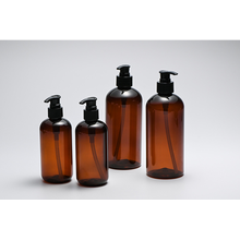 Pet Plastic Shampoo and Conditioner Bottle with Lotion Pump