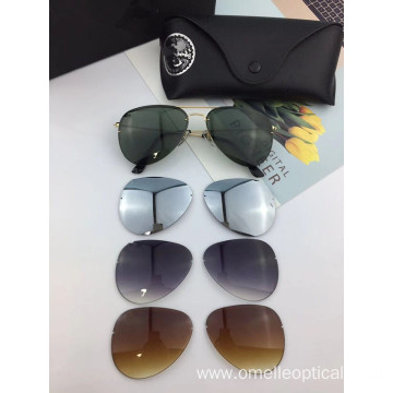 Unisex Rimless Sunglasses Fashion Accessories