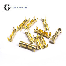 100 pcs/lot DJ 453 U-shaped terminal 0.5-1.5mm Splice Terminals Cold-pressed Connector Cable Electric Sertir Wire Connection