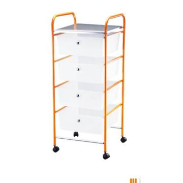 4 Tier drawer rolling storage