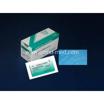 Germfree Multifilament Braided Polyester Surgical Suture