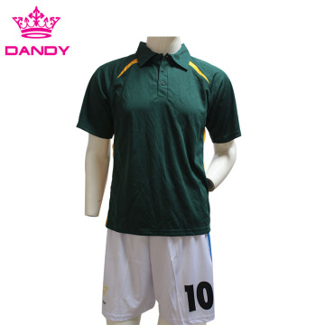 Ritenga Polyester Green Polo Shirts Mens