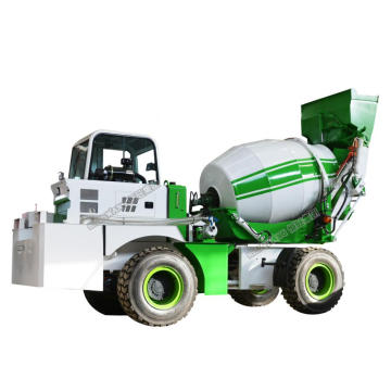2.4 Cubic Concrete Mixer With Pump