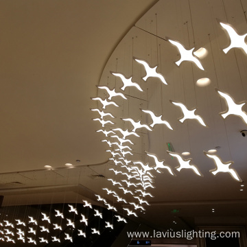 Customized auditorium project led pendant light