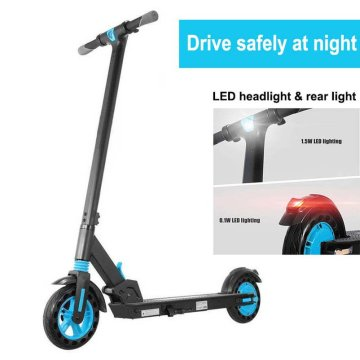 Electric Scooter And Rain