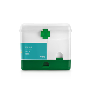 portable Health care case plastic first aid kit