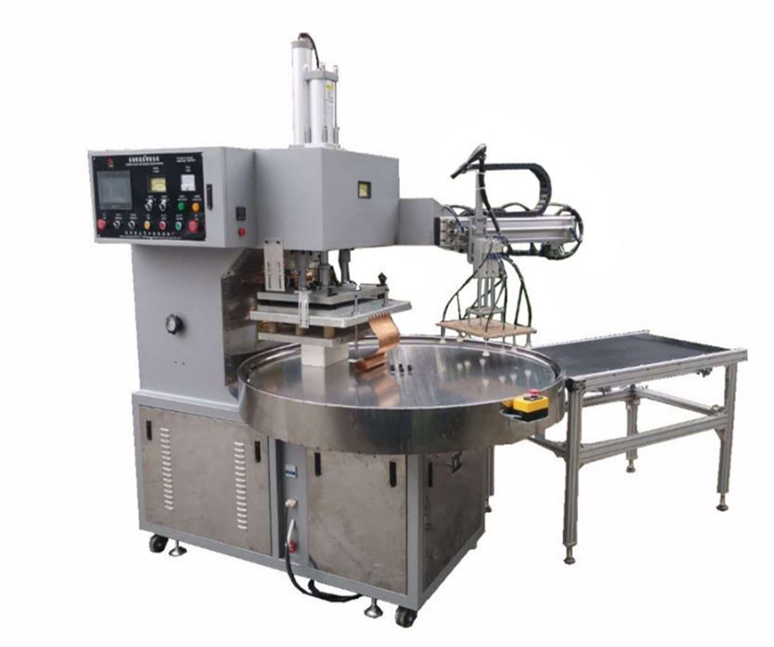 RF Welder for Automatic Turntable for Checkbooks