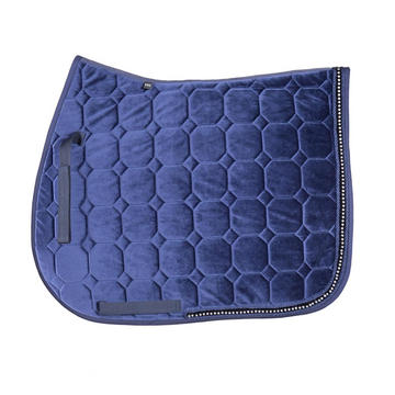 High-quality quilting velvet saddle pad