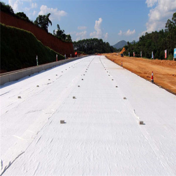 Polyester Nonwoven Geotextiles for Road Base Construction
