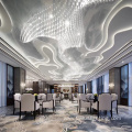 Indoor hotel crystal big project chandelier