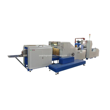 Single Piece Semi Auto Paper Bag Machine