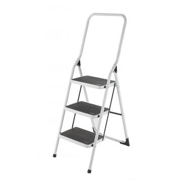 high quality steel ladder with handrail