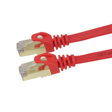 Indoor RJ45 Slim CAT7 STP Flat Patch Cable