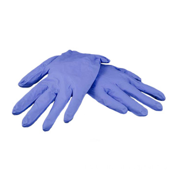 Disposable soft nitrile gloves with reliable performance