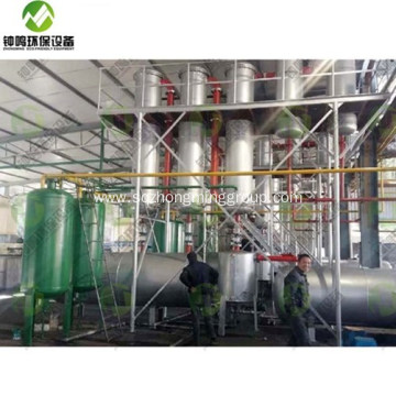 Plastic To Oil Pyrolysis Video Youtube