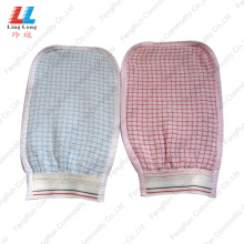 Gird Style Washing Bath Gloves