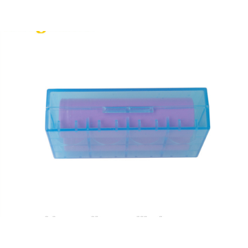 18650 battery Plastic box with different color