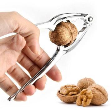 1pcs Zinc Alloy Nutcracker Sheller Walnut Nut Cracker Kitchen Nutcracker Pecan Tool Quick Fruit Accessories Almond Walnut O1O8