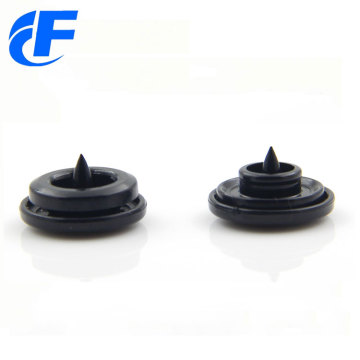 Wholesale four parts double cap plastic snap buttons