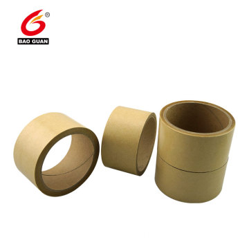 Custom Printed Acrylic Fiber Reinforced Self Adhesive Kraft Tape Gummed Paper Tape For Sealing &Strapping