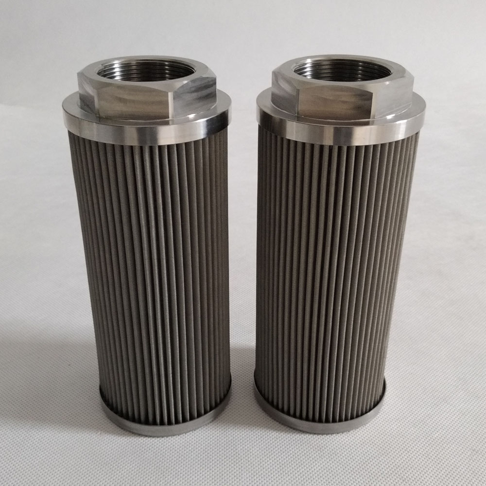 Steel Mesh Filter WU-160X100-J Hydraulic Suction Filter
