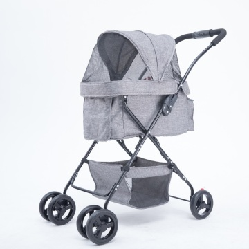 Aiberry Foldable Pet Easy Walk Strollers Carrier