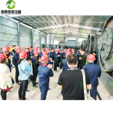 Varities Waste Plastic Pyrolysis to Fuel Process Plant Project Report