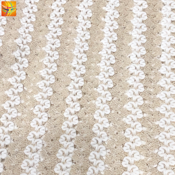 95% Nylon 5% Polyester Lace Fabric