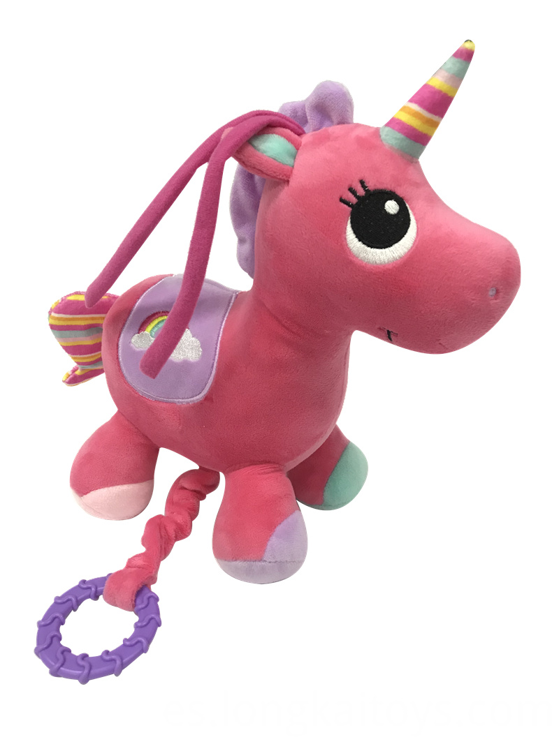 Plush Unicorn Playing Music